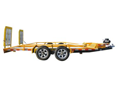 Center axle trailer