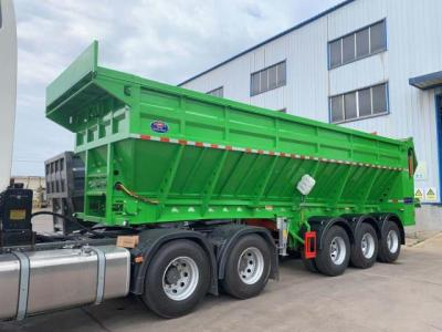 Ultra-light intelligent conveyor belt unloading truck