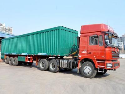 Intelligent conveyor belt unloading truck