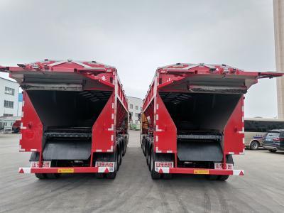超轻型智能输送带卸货车